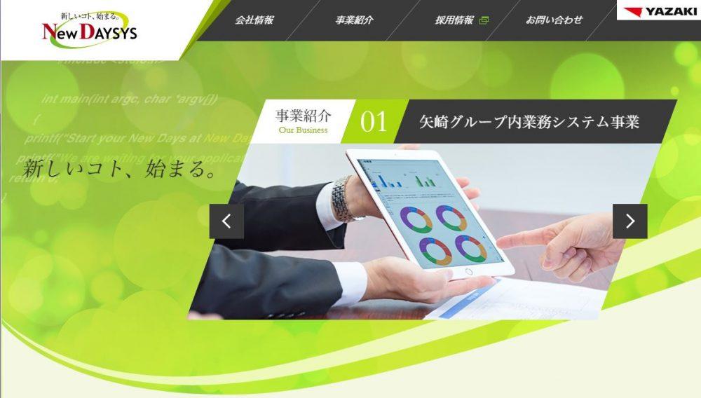 株式会社Newデイシス様 コーポレートサイト